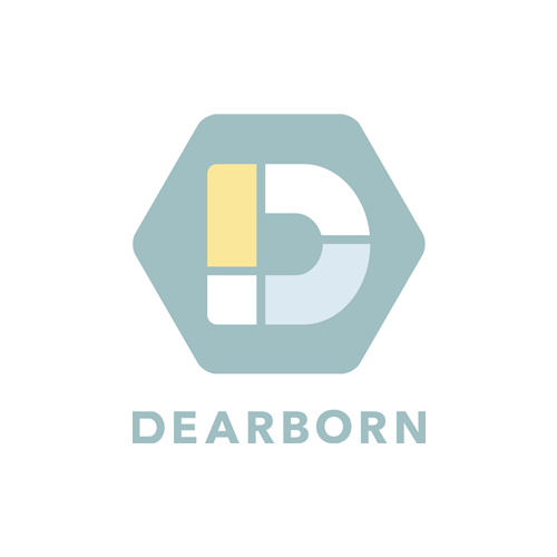 Dearborn vertical logo
